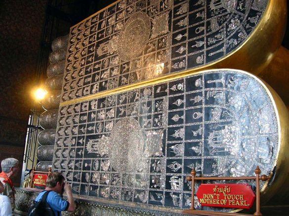Telapak Kaki Sang Buddha Berbaring